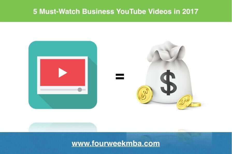 Five Must-Watch Business YouTube Videos in 2017