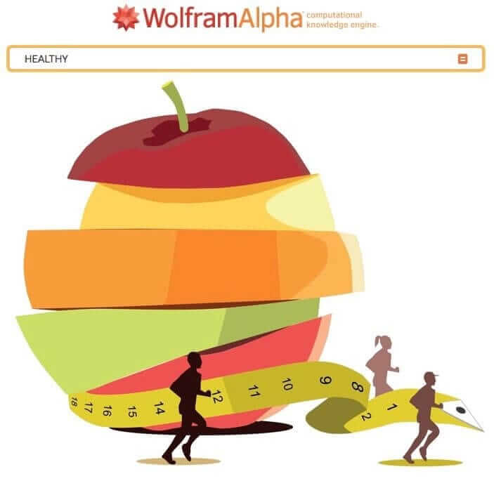 How to Use Wolfram Alpha as Personal Fitness Assistant to Improve Your Health