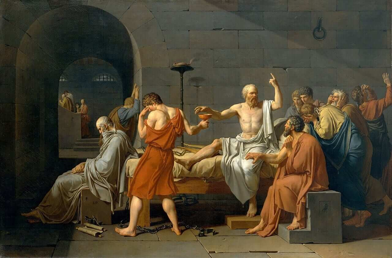 was the death of socrates justified He gives as his reason that if socrates refuses to escape and is then put to death, crito will believes he would be amply justified crito and socrates have.