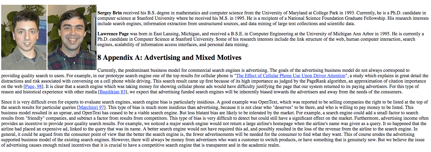 The Future Of Google The Curse Of Engineers Become Advertisers