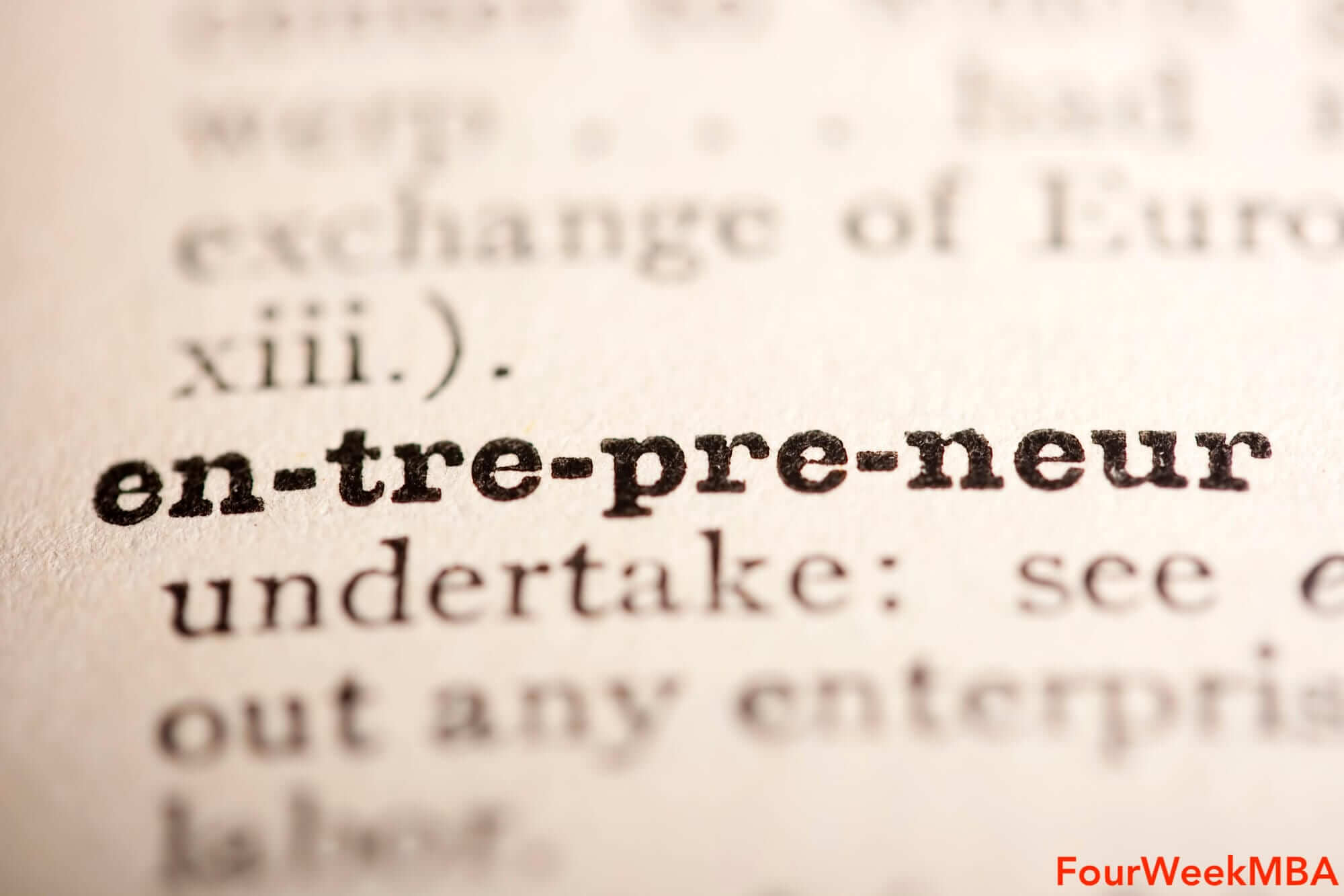 FourWeekMBA - The Leading Source Of Insights On Digital Entrepreneurship And Business Model Strategy