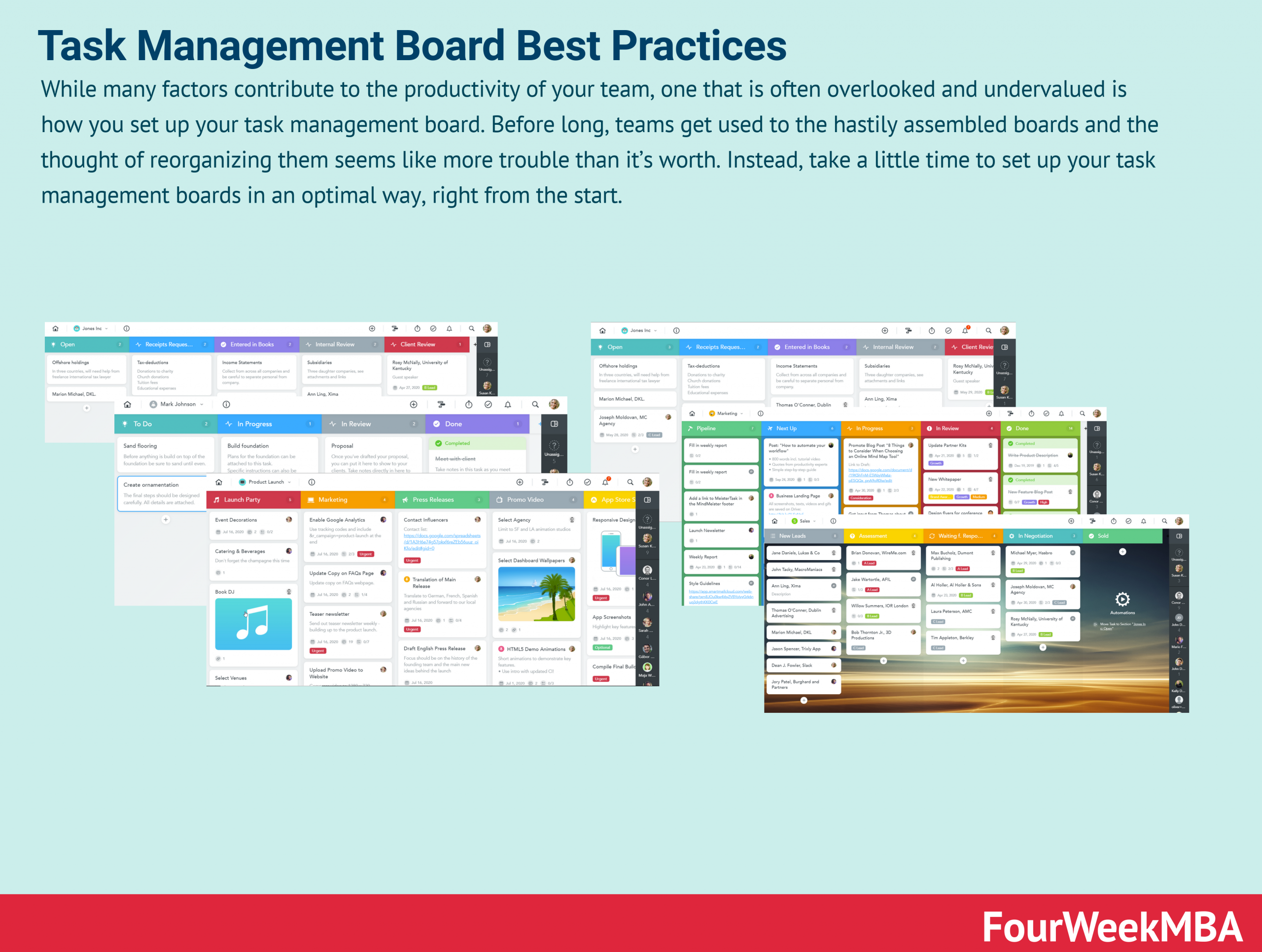 Finding the Right Task Management Board Setup for Team Productivity